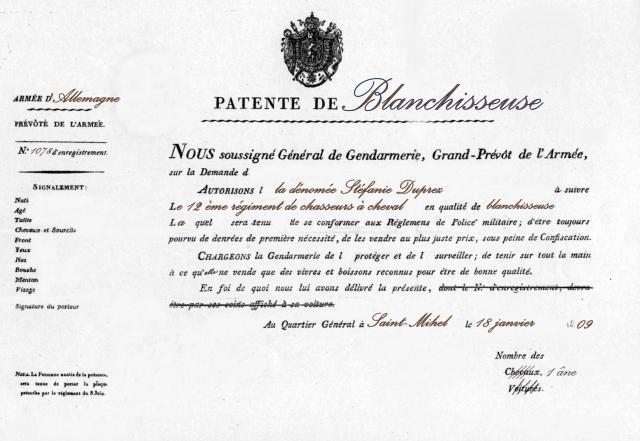 Patent wasvrouw