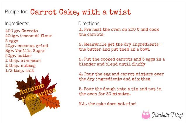 Carrot cake w AF WM